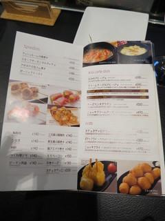 串鳥のワイン酒場 TANTO - メニュー(2015年12月)