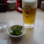 宇都宮餃子館 - 生ビール~☆
