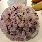 マデイ カフェ - 雑穀米