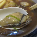 そば屋 ふさよし - 2015/12 大きな牡蠣