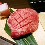 45581723 - 厚切り牛タンステーキ