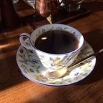 ばらーど - モーニングセットに含まれる香り高いコーヒー