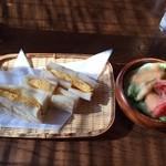ばらーど - モーニングセット/タマゴトースト500円(税込)