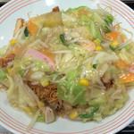 リンガーハット - 皿うどん 650円