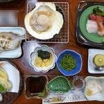 民宿 海楽荘 - 料理写真:夕食