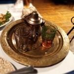 モロッコ料理カサブランカ - ミントティー(あまーい)