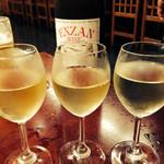 割烹 甲州  - ワイン(甲州)の金銀銅3種