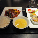 中国料理 白金亭 - 白金亭ランチ御膳