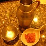 うをとみ - 日本酒(山形『惣邑』)とカツオ酒盗
