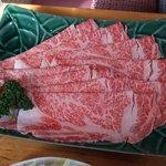 4559828 - しゃぶしゃぶ(松)のお肉