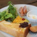 カフェシュクル - 料理写真:モーニング♪550円