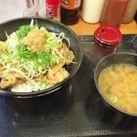 東京チカラめし - 豚丼セット♪