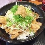 東京チカラめし - 豚丼UP♪