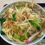 水明亭 - 野菜たっぷりちゃんぽん
