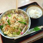 水明亭 - ちゃんぽんとご飯