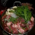 つきじ - ネギマ鍋