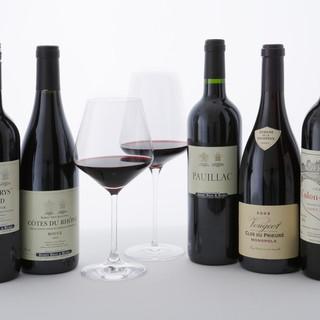 SHINOBY'SBARのワイン