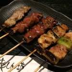 串しん坊 - ねぎま・レバー・せせり(各100円)