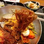 韓国家庭料理 スッカラとチョッカラ - 極細糸コンニャク風麺