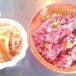 すみれ家 Sun Fare Masayo - 古代米のグリンピースご飯