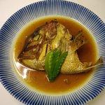 香林坊 - 料理写真:看板料理 鯛のかぶと煮