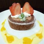 アイカフェ - Xmasまでの期間限定チョコっとロールケーキ!!数量限定です。
