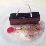 45605970 - 2015年11月:一休から予約したランチ(1980円)のチョコケーキ