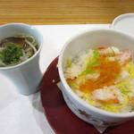伊万栄 - 御飯~蒸し寿司とごまそうめん