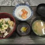 食事処 建 - ふぐ飯定食 1500円(2015.12)