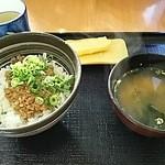 吉野家 - 鶏そぼろ丼朝定食