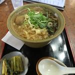 こばやし安曇野庵 - たぬき蕎麦¥1026税込