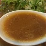 45609731 - このスープは...どこか感じる神戸のラーメン!