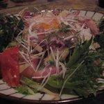 呑んどこ たなか - 炙りベーコンしゃきしゃき芋サラダ