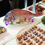 中国料理 XVIN - パーティー・フードとお祝いの鯛〜♬