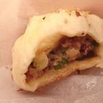 台湾の焼き包子 包包亭 - 肉包ロウパオ