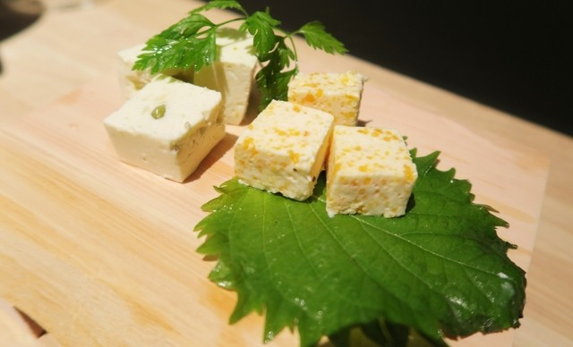 伏見立呑 おお島 - 山葵チーズ、からすみチーズ☆彡