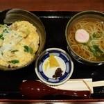 正家 - ミニ親子丼定食800円