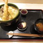 宮戸川 - 天丼 900円