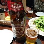 新福菜館 お二階 隠れ - ビール