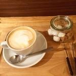 カフェ スケッチ - カフェラテ(HOT)
