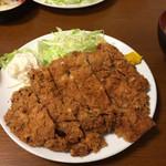 幸 - ジャンボチキンカツ( ´艸`)