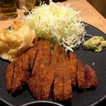 牛カツ専門店 京都勝牛 - 「牛ロースカツ京玉膳」