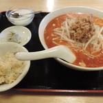 上海味わい - ランチの坦々麺セット