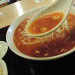 上海味わい - 坦々麺のスープ