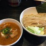 麺屋 とがし - 2015/12/16辛旨つけ麺800円中盛中辛