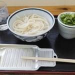 宮武うどん - 本日セレクト 湯だめ小 250円