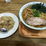 麺龍 - 料理写真:チャーハンセット 醤油 大盛り