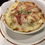 45621348 - ポテト&ベーコンのチーズ焼き