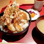45623252 - 特製天丼1050円                       メニューは以上終了