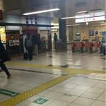 文殊 - 出汁香る馬喰横山駅の構内